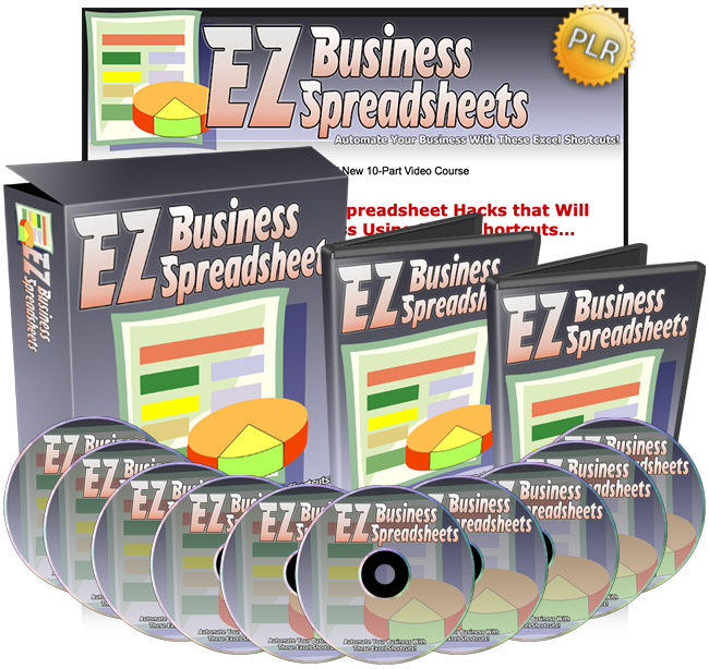 EZ Business Spreadsheets - Automate your business with these Excel shortcuts!