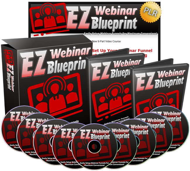EZ Webinar Blueprint - Easily Setup Your Webinar Funnels For Maximum Conversions!