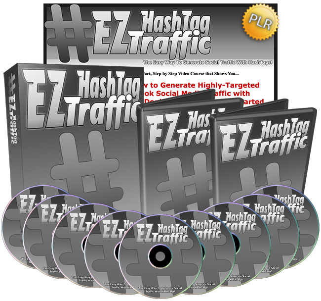 EZ HashTag Traffic - How To Generate Social Traffic With HashTags!