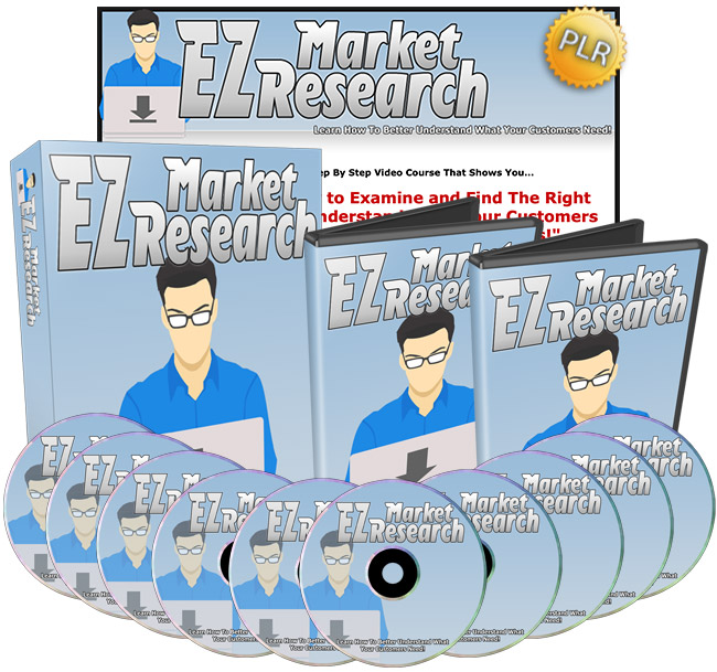 EZ Market Research - How To Better Understand What Your Customers Need!