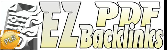EZ PDF Backlinks - A Backlink Strategy That Gets You Free Targeted Traffic!