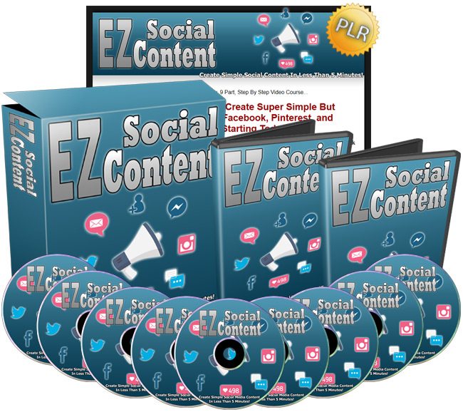 EZ Social Content - Create Simple Social Media Content In 5 Minutes Or Less!