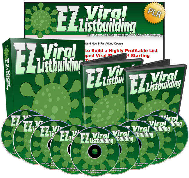 EZ Viral Listbuilding - Build A Profitable List By Using This Untapped Viral Strategy!