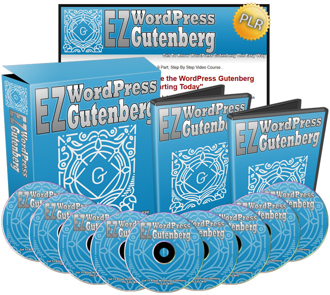 EZ WordPress Gutenberg - The Easy Way To Use WordPress Gutenberg