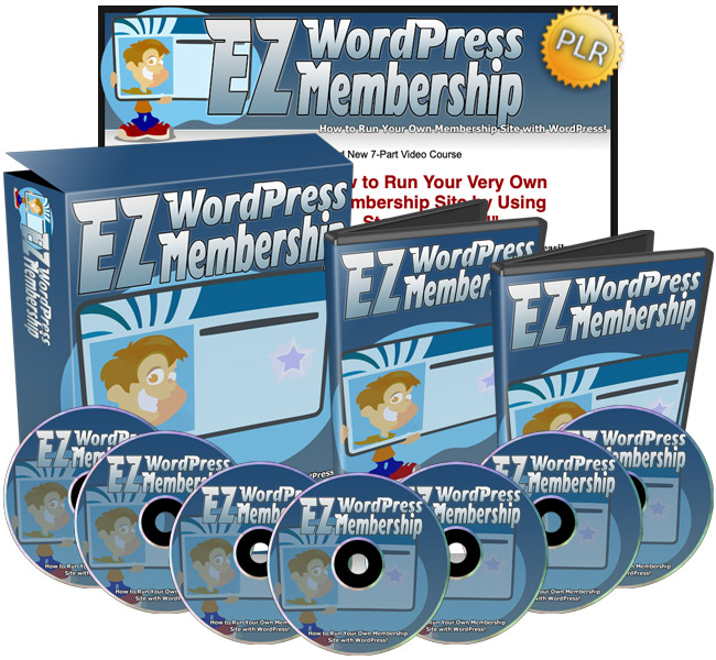 EZ WordPress Membership PLR Review