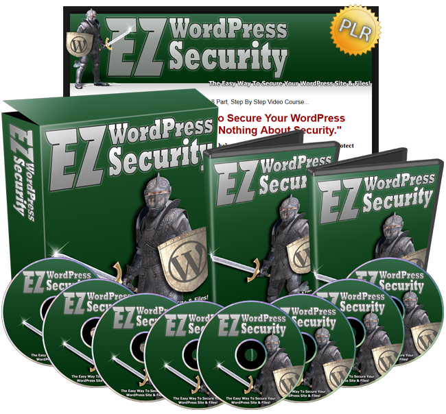 EZ WordPress Security - The Easy Way To Secure Your WordPress Site & Files!